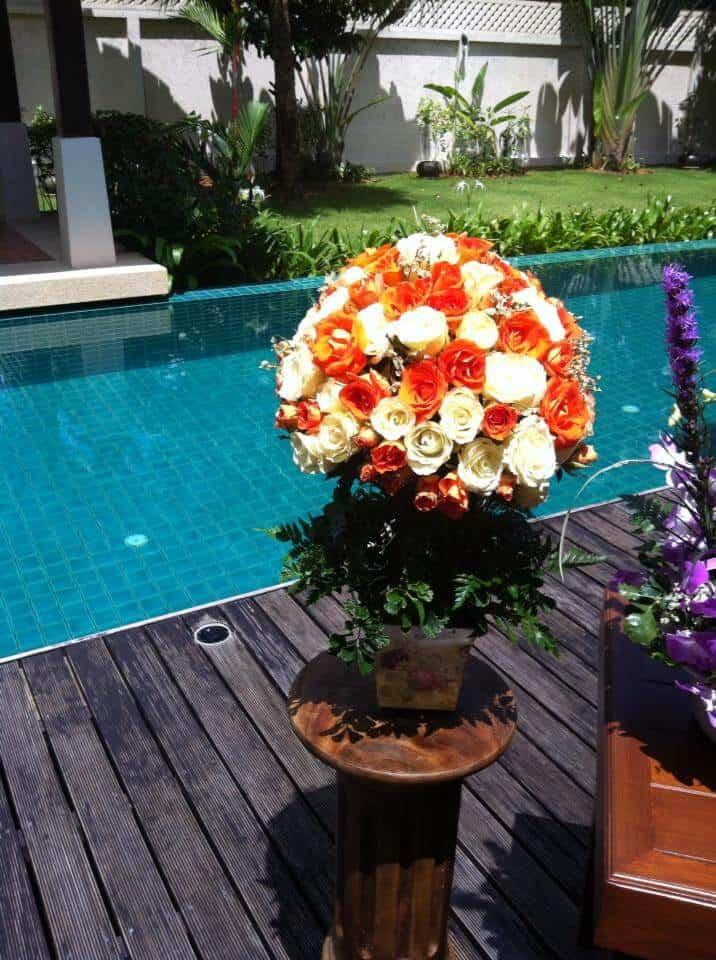 婚礼鲜花普吉岛花卉设计