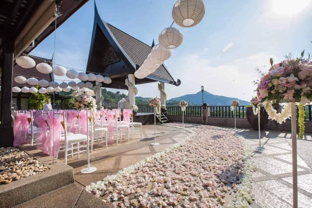 别墅Baan Chang泰国婚礼开花普吉岛泰国