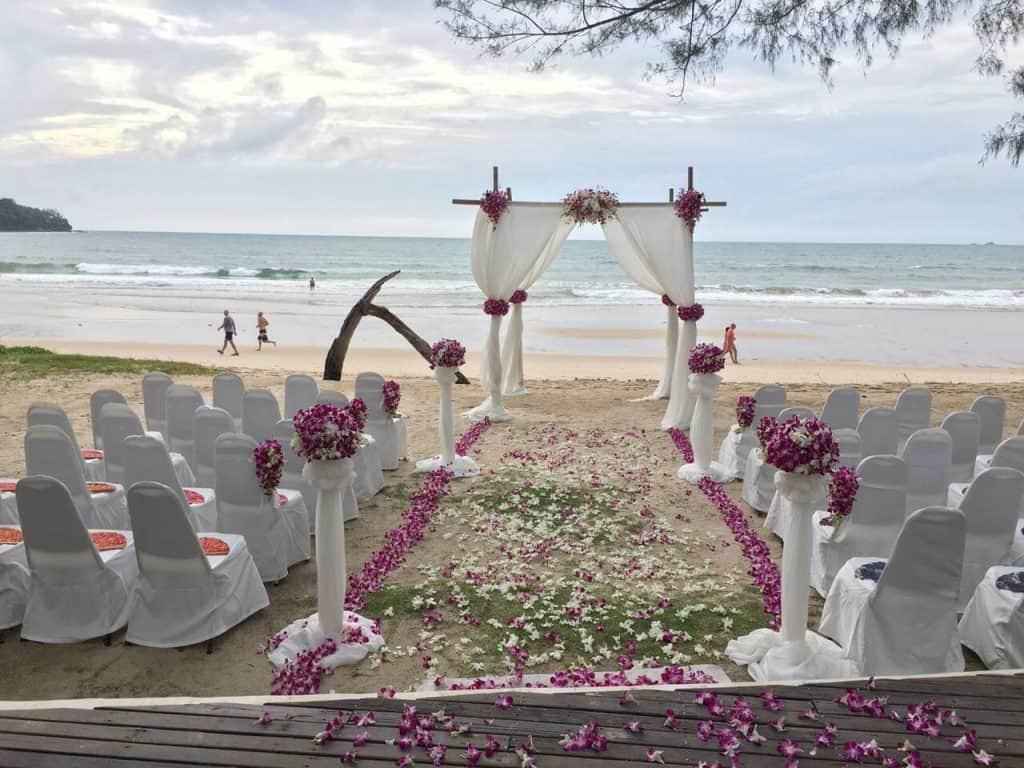 婚礼开花普吉岛泰国