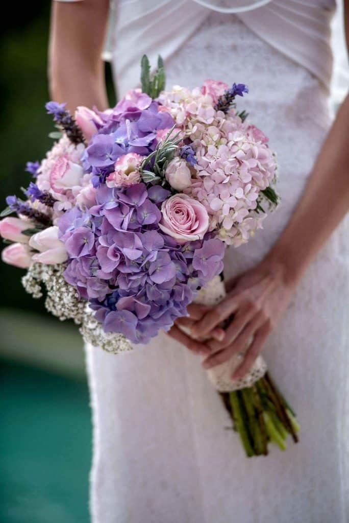 花束仪式开花普吉岛泰国