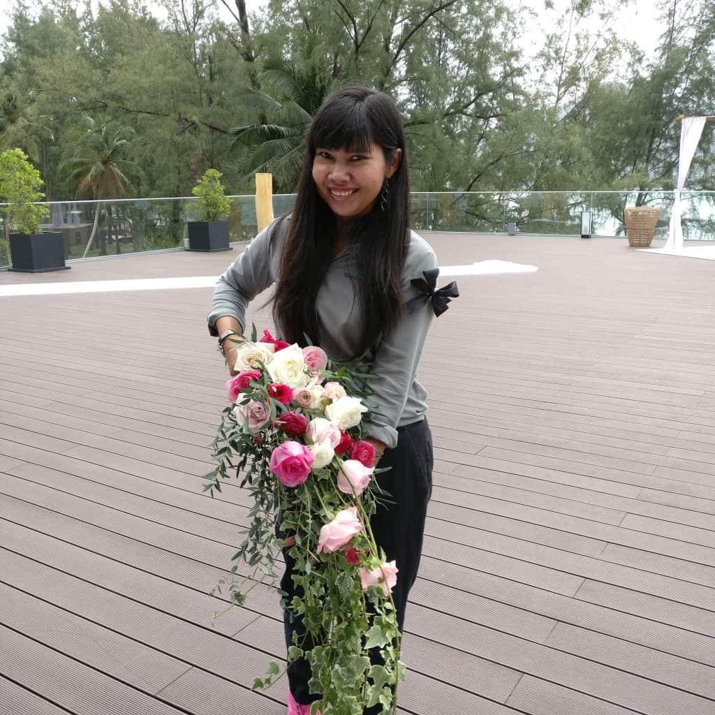 Bouquet Wedding Ceremony Flowers Phuket Thailand