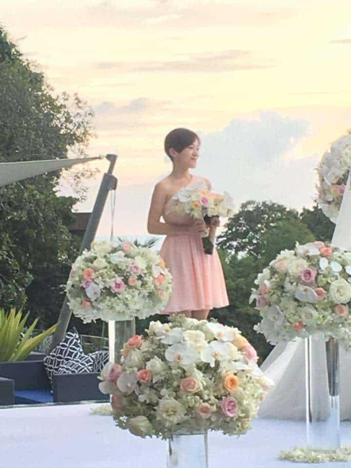 October 2016 Wedding Flowers Phuket Setups - Thailand