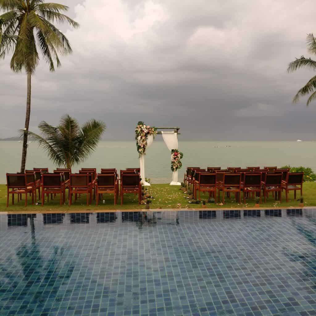 Wedding Flowers Resort