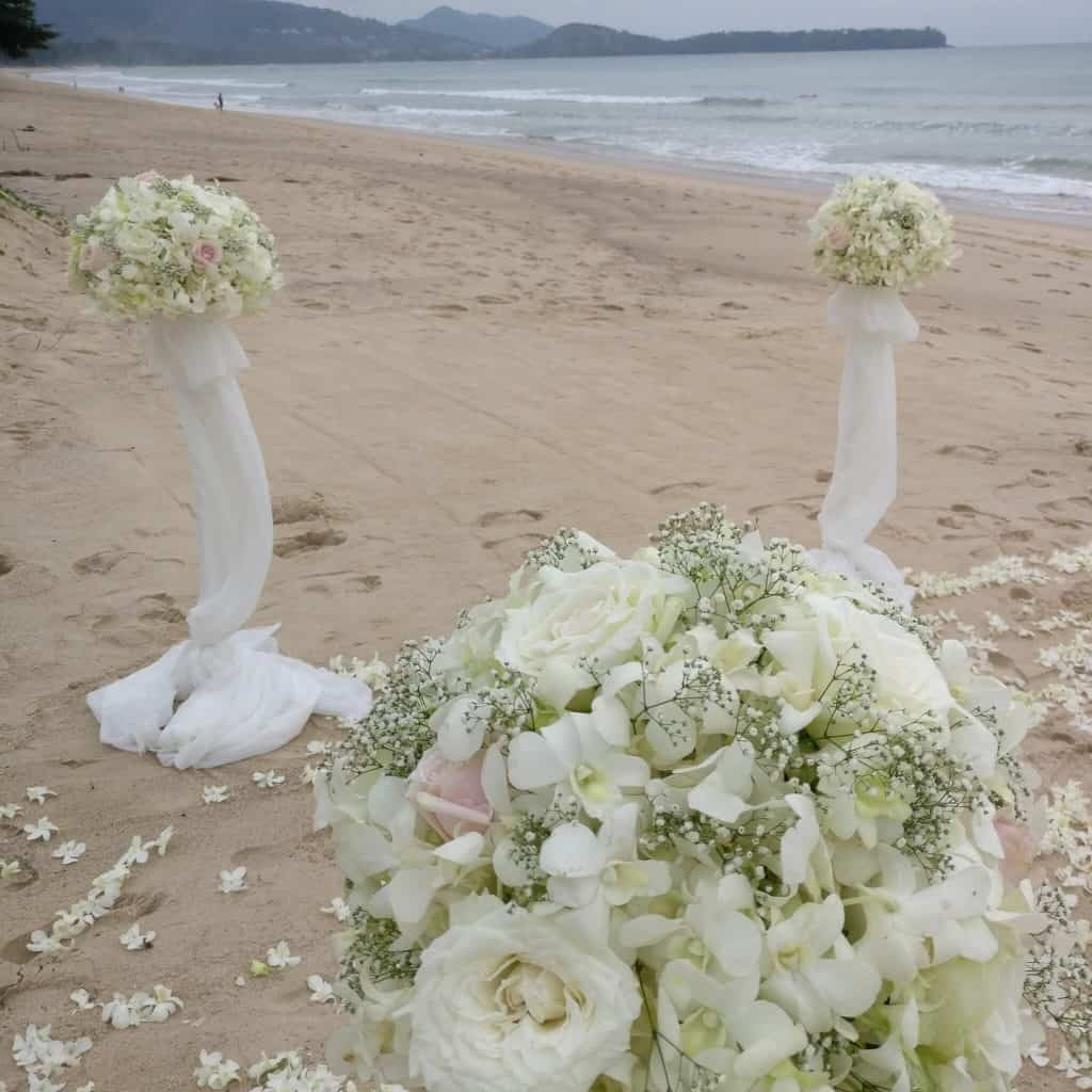 Wedding Flowe stands