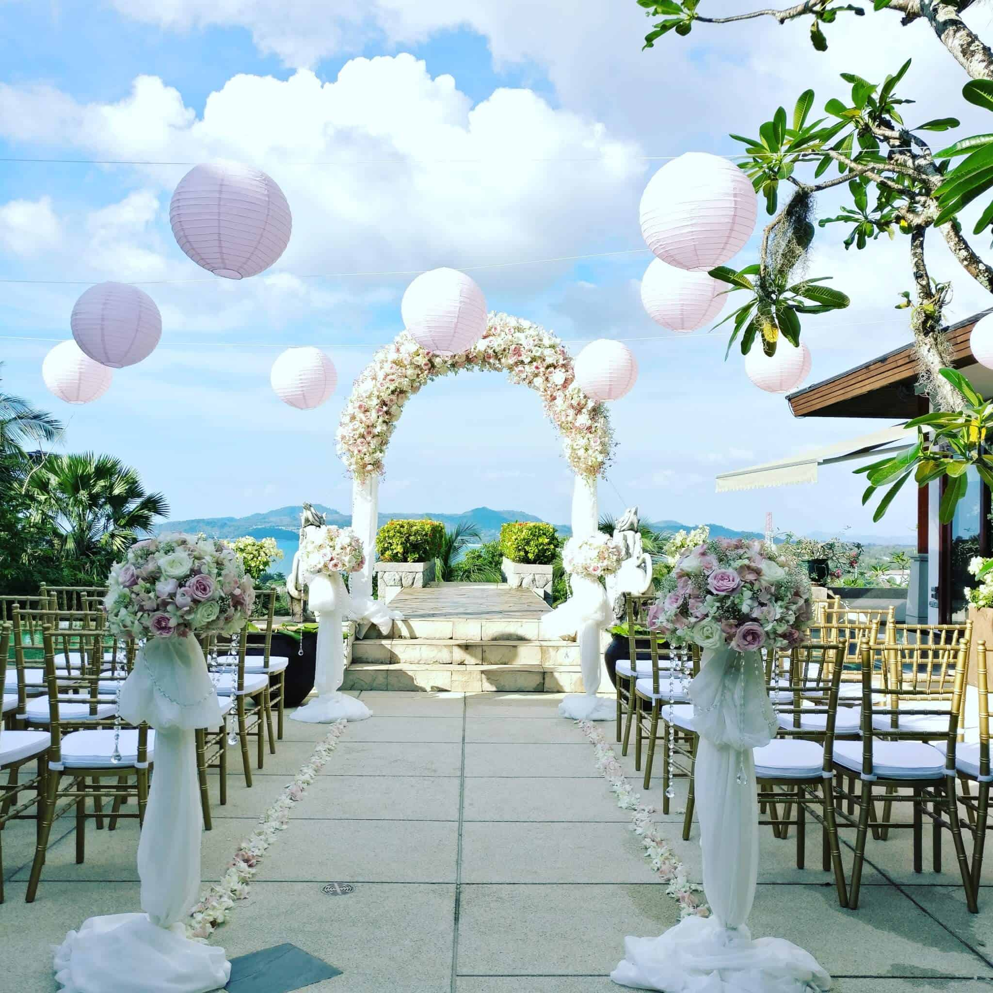 Wedding Flowers Phuket Events