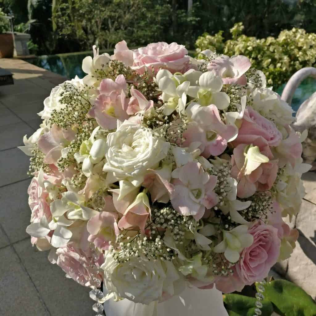 Villa Wedding Flowers