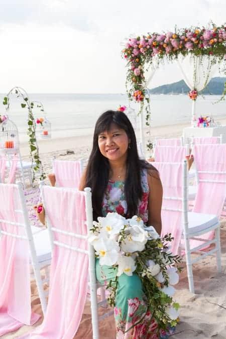 婚礼鲜花普吉岛 - 独特 - 普吉岛 - 婚礼策划者 - 我们只从事心灵工作 -  35 s