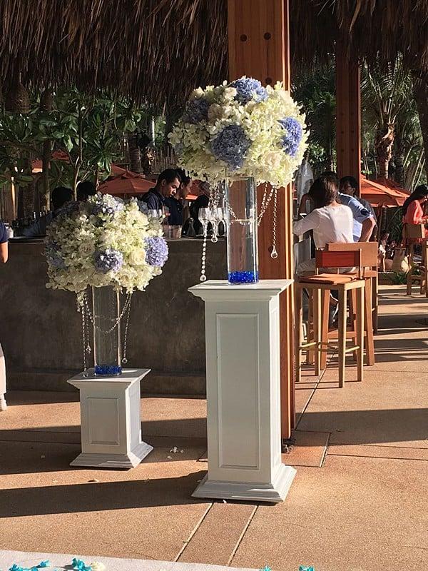婚礼装饰婚礼鲜花普吉岛7
