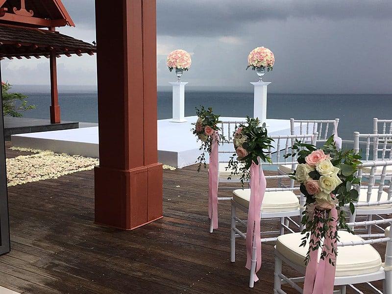 婚礼装饰婚礼鲜花普吉岛9