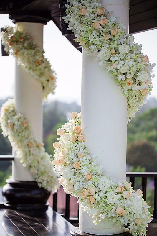 婚礼装饰婚礼鲜花普吉岛15