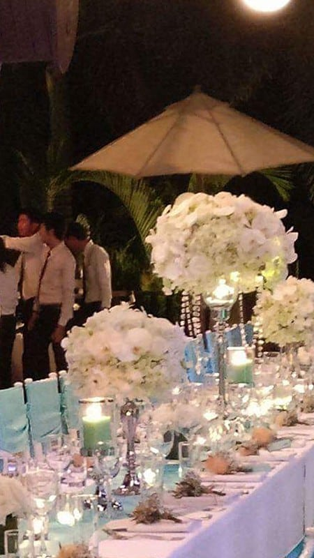 婚礼装饰婚礼鲜花普吉岛16