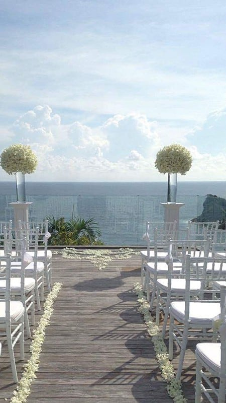 婚礼装饰婚礼鲜花普吉岛18