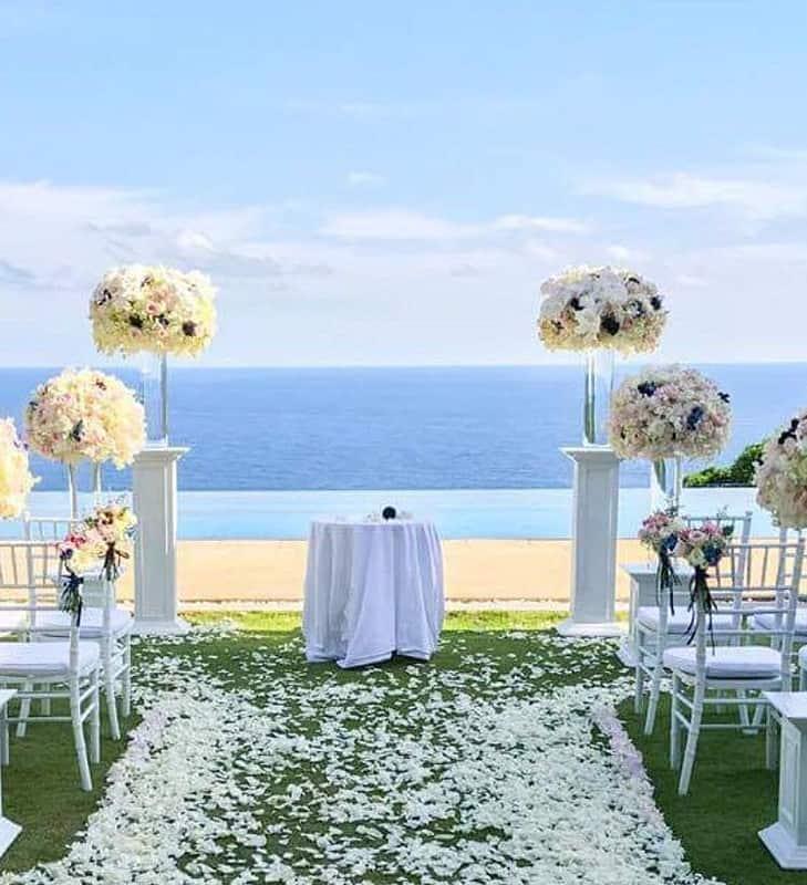婚礼装饰婚礼鲜花普吉岛19