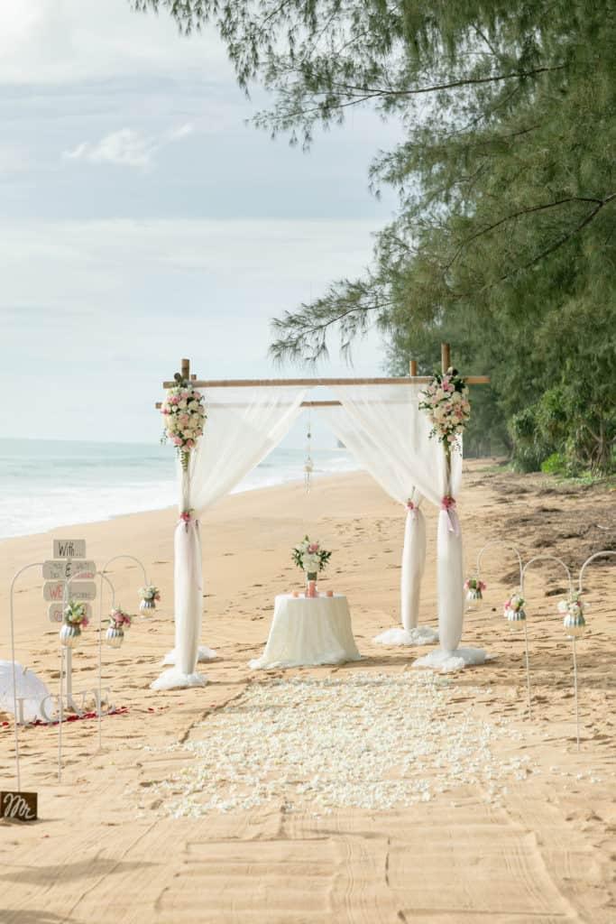 婚礼鲜花设置236