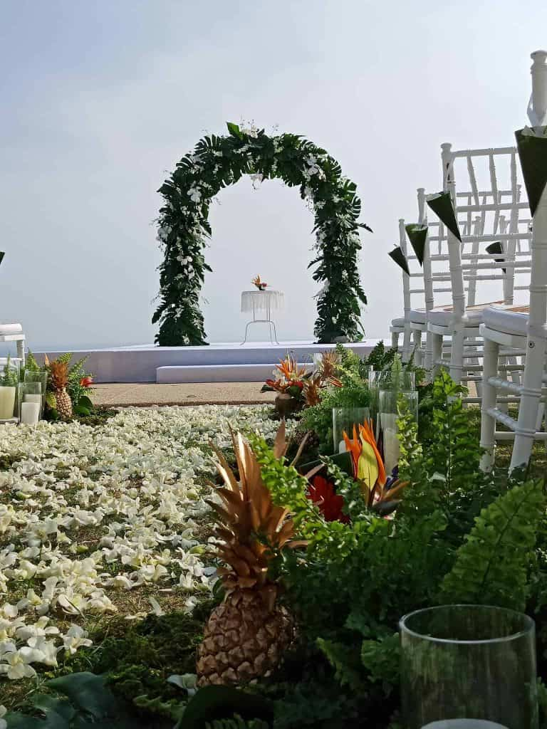 Wedding Flowers Setups 240