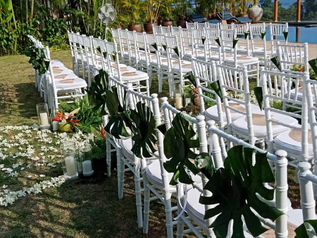 婚礼鲜花设置243