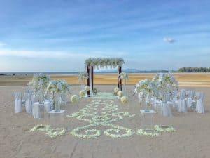 婚礼鲜花设置49