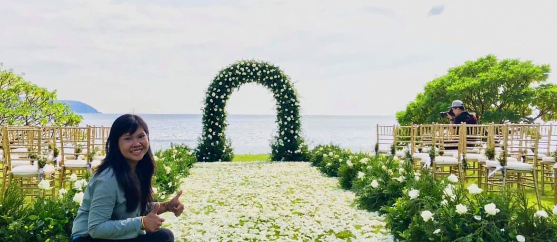 婚礼鲜花设置6
