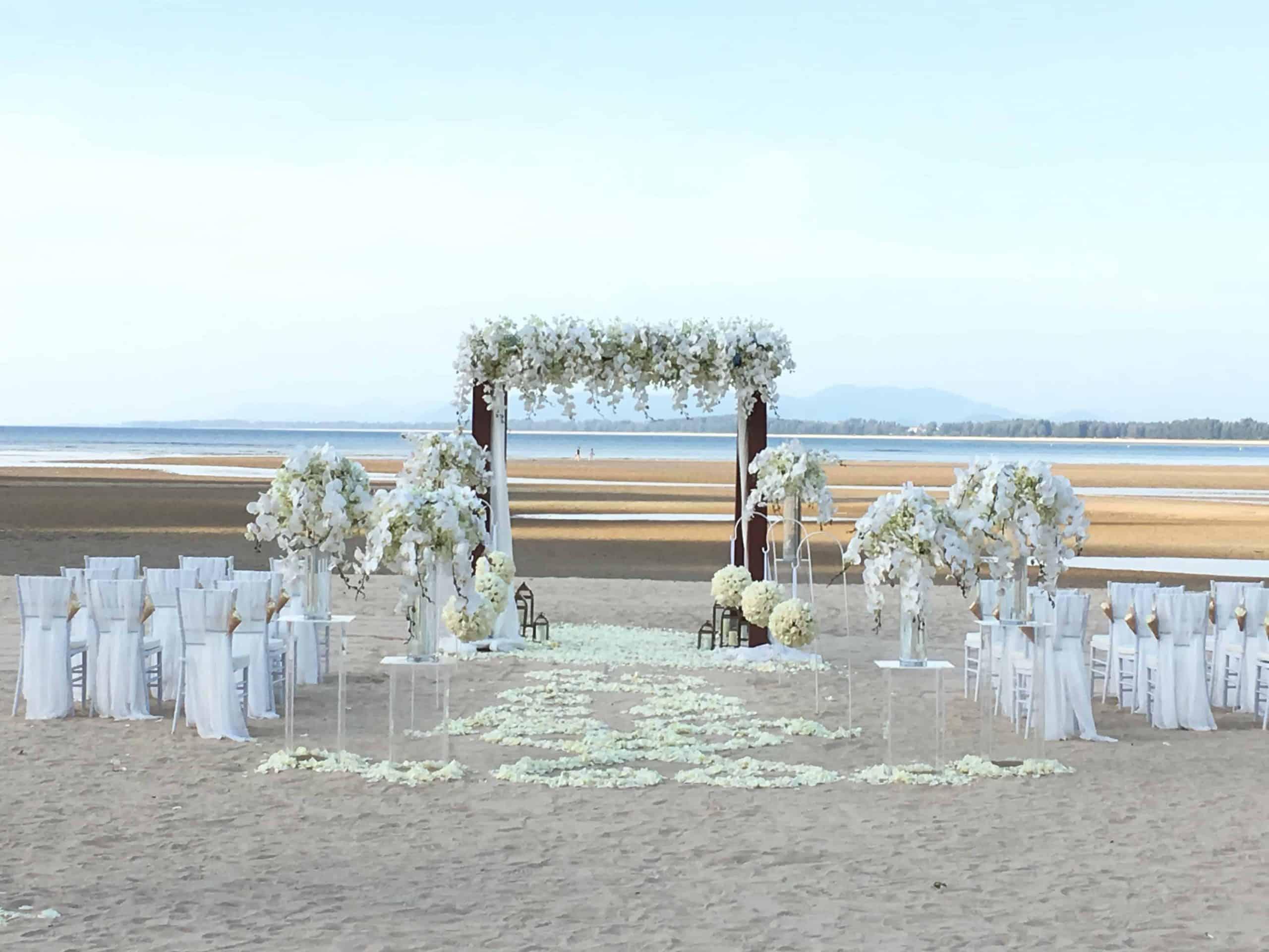Wedding Flowers Setups 63