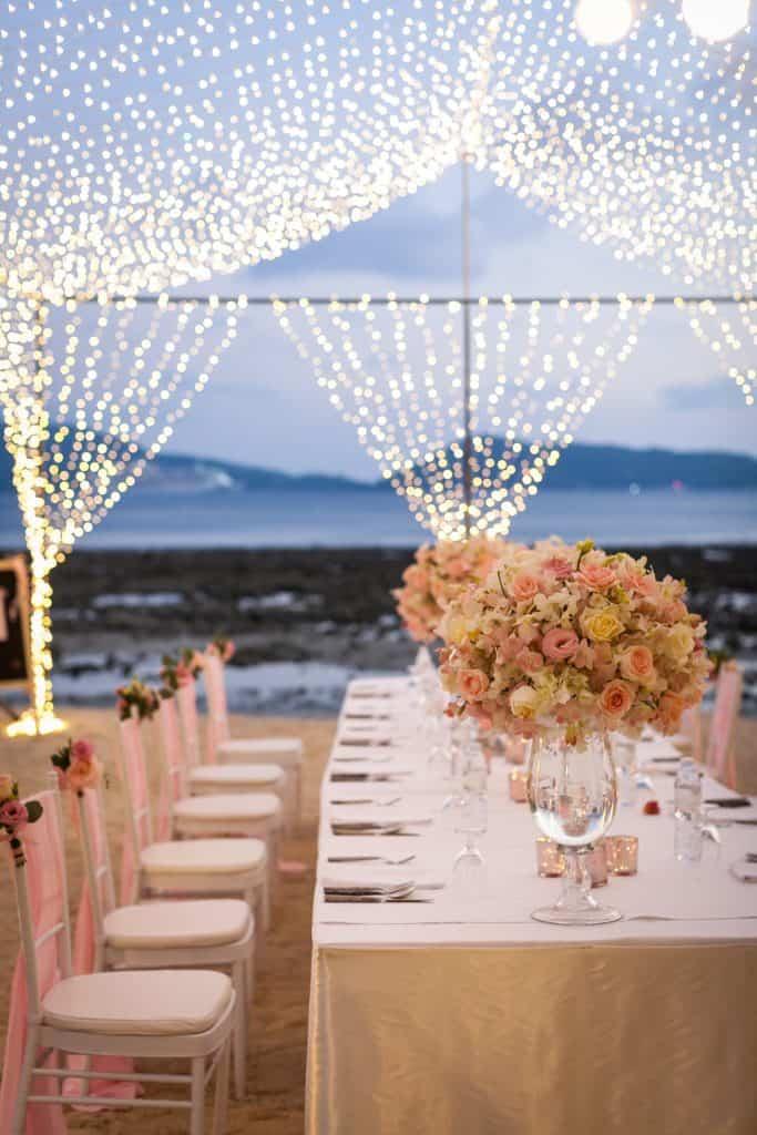 Tanya & Giorgio Beach Wedding 9th March 2019, Thavorn Beach Village 365